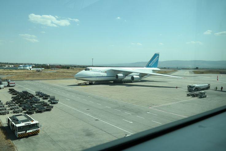 Tbilisi Airport. Antonov