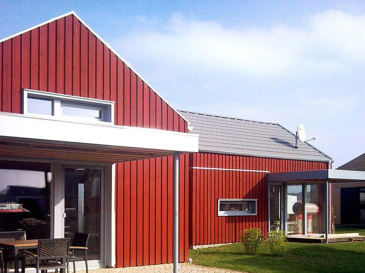 Schwedenrotes Ferienhaus an der Ostsee für 4 Personen
