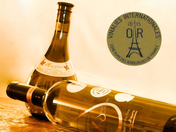 STELIOS KECHRIS DOMAINE -  KECHRIBARI AND THE TEAR OF THE PINE AT THE TOP OF VINALIES INTERNATIONALES 2015!  Kechribari and The Tear of the Pine, the top-quality retsina wines of the enologist-winemaker Stelios Kechris, have been awarded two gold medals at Vinalies Internationales 2015.