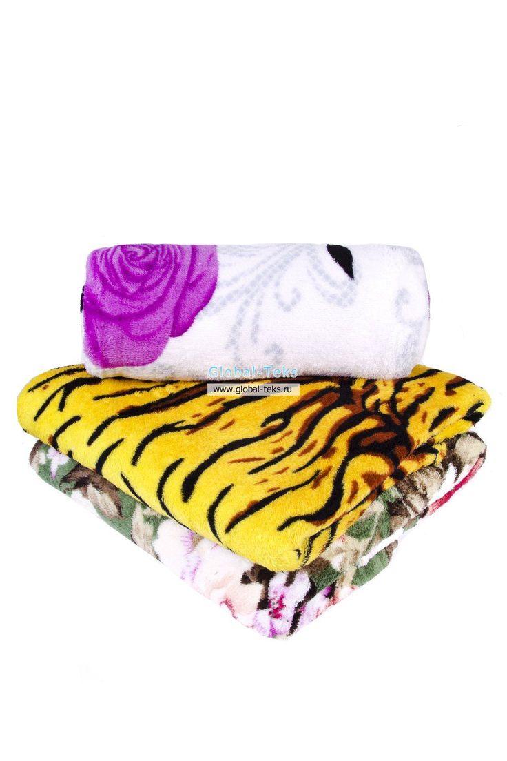 Плед 180 х 220 №П2. Глобал - Текс предлагает чулочно-носочные изделия, носки, колготки, трусы, скатерти оптом в Иванове.