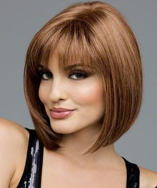 TOP SELLER - Similar to Scorpio from Revlon - it's just that classic blunt ..check out the back of this hairpiece at wowhair.ca - it is to die for.  This is creamed coffee which is one of the most popular colors and tends to suit alot of women.  LOVE IT.. so classy and yet sexy.