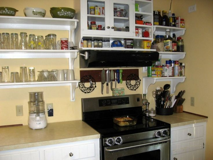 Best Open Shelving Kitchen Ideas Images On Pinterest Open