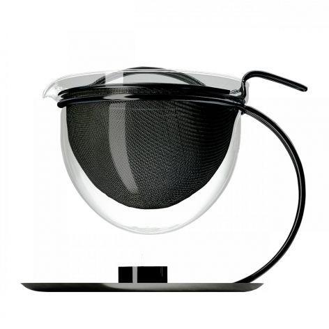 Mono Teekanne Filio schwarz, mit Stövchen #artvoll #Colors #Black #Schwarz…