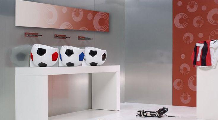 Diseños de lavatorios en forma de balón