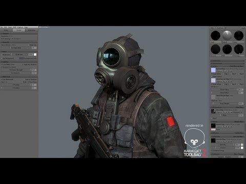 Marmoset Toolbag 2, SAS The Black Kit