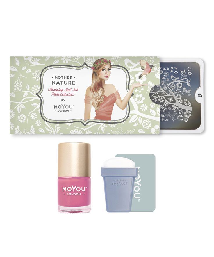 Another great find on #zulily! Mother Nature Nail Art Stamp Plate Starter Set by MoYou London #zulilyfinds