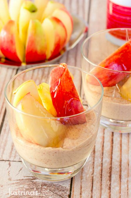 High-Protein Fruit Dip With Sliced Apples | 21 Easy, Healthy Snacks For When You're Trying To Lose Weight