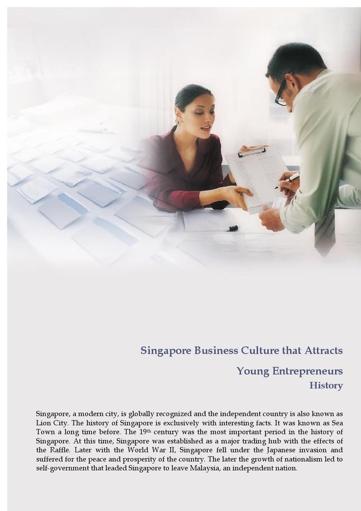Singapore business culture that attracts young entrepreneurs  Let's find out what are the things in Singapore attracts every young entrepreneurs in the world and why it's called world's business port.