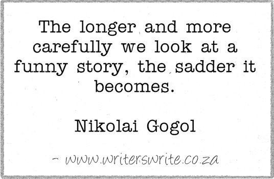 Quotable - Nikolai Gogol