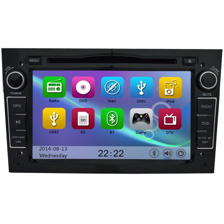 Vauxhall Corsa C D Piano Black Stereo GPS SatNav DVD Radio Direct Fit Navi iPod | eBay