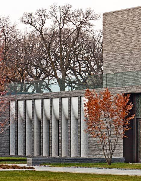 Garden Mausoleum by HGA. Nice windows.