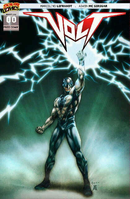 Indonesian superhero Volt