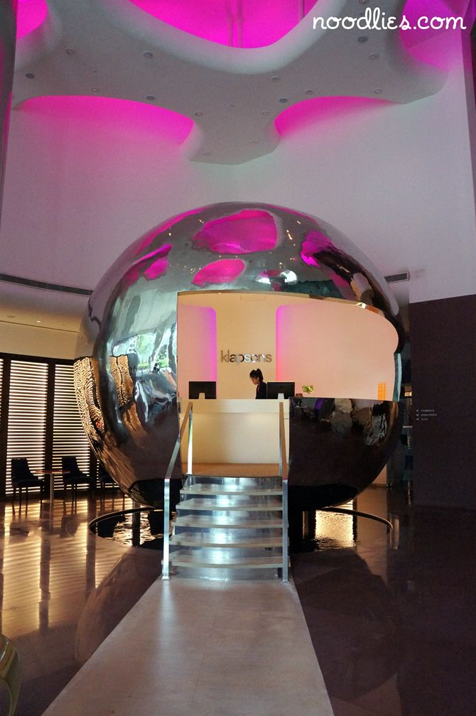 Singapore // Do you feel like if you check-in here at Klapsons you might end up somewhere besides Earth?