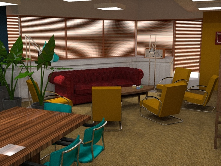 """Lounge in meetingspace """"The Loft"""" @S2M030"""