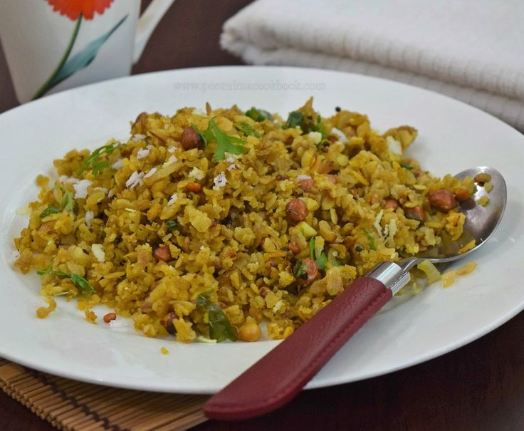 Rice flakes / Aval / poha is a flattened or beaten rice; which is commonly used in many Indian dishes. Though white Rice flakes is commo...