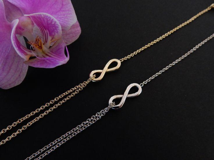 Gouden armbanden, handgemaakt voor twee vriendinnen. Vrienden voor het leven! In opdracht vervaardigd.