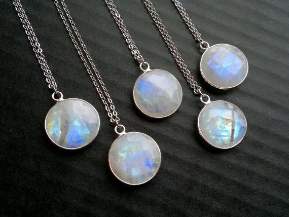 You can never have too many.   23 Ridiculously Pretty Moonstone Necklaces You 100% Need