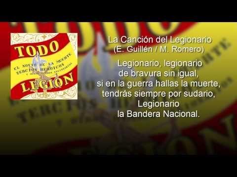 La Canción del Legionario - Tercio Duque de Alba II de La Legión (con le...