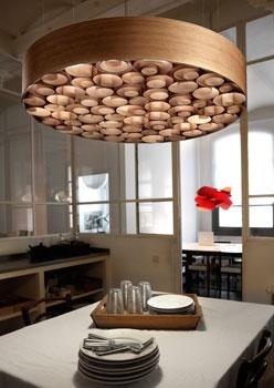 The Spiro suspension lamp, designed for LZF by the designer Remedios Simón