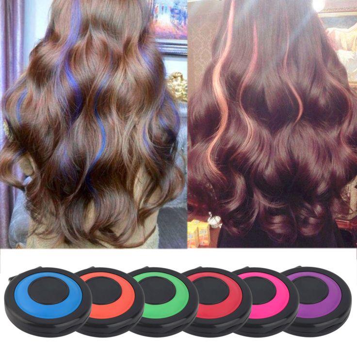 Ungiftig Temporäre Haar Styling Weiche Farbstoff Pulver Einfach Waschen Salon Werkzeug Heißer Verkauf