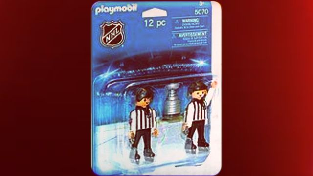 PLAYMOBIL NHL Referees with Stanley Cup by PLAYMOBIL    http://amzn.to/2bo91hv by PLAYMOBIL Be the first to review this item   Price: £36.48  Only 3 left in stock - order soon. Estimated delivery 23 Aug. - 13 Sep. when you choose Standard Delivery at checkout. Details Dispatched from and sold by linkedeu. PLAYMOBIL NHL Referees with Stanley Cup MY SITE   http://www.onlyamazogoods.com/