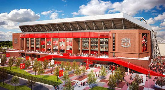 Liverpool FC's Anfield Construction begins with £115m loan from Fenway Sports Group: The Telegraph published that the Fenway Sports Group, the proud owner of Liverpool are all set to give away a hefty loan barring interest to renovate the main stand.