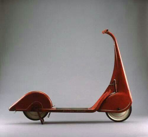 Very cool scooter, 1930's