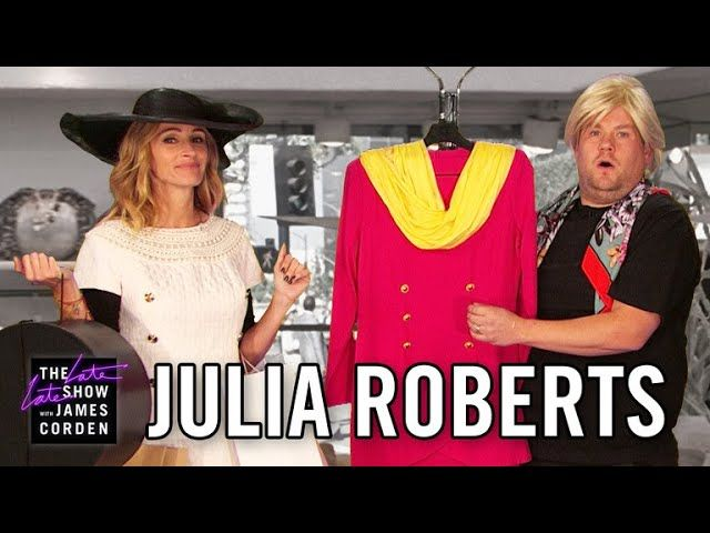 "Julia Roberts and James Corden act out snippets of scenes from Julia's unbelievable film career, covering everything from ""Pretty Woman"" to ""Erin Brockovich"" to her new film, ""Wonder.""      https://www.youtube.com/watch?v=GtBcWxjioiM   #Carpool #CBS #celeb #Celebrities #Celebrity #colbert #Comedian #Comedy #Corden #Famous #funny #funny video #funny videos #hollywood #humor #impressions #James Corden #Joke #jokes #Karaoke #Late Late Show #late night #late night show #monolog"