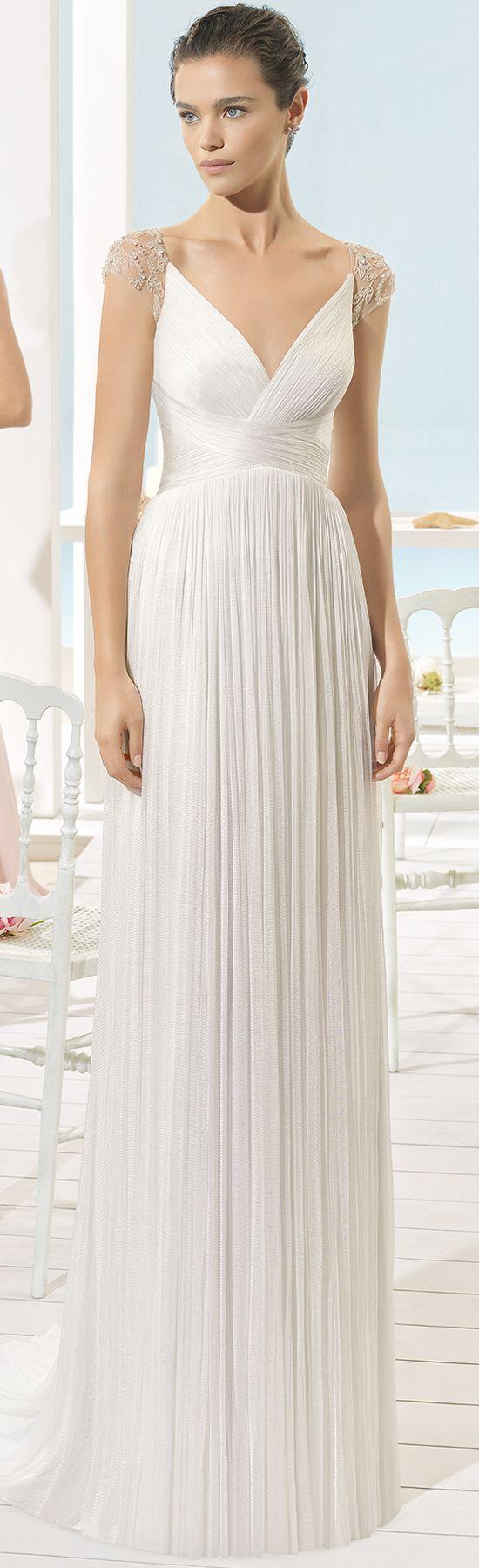 XANT vestido de novia Aire Barcelona 2017