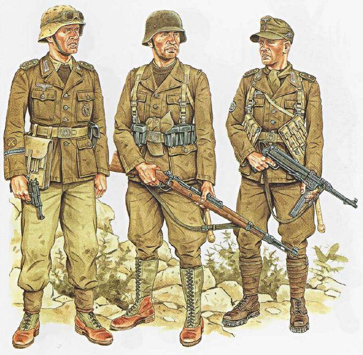 German Afrika Corps soldiers