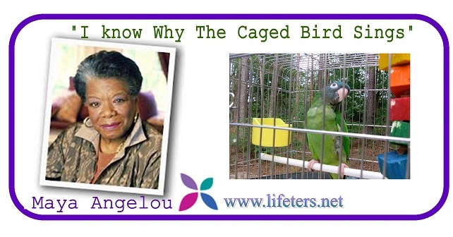 characterization of maya in i know why the caged bird sings Pair i know why the caged bird sings with sympathy, and ask students to draw connections between maya's character and the bird in the poem as they read the first few pages of the book how does maya feel caged.