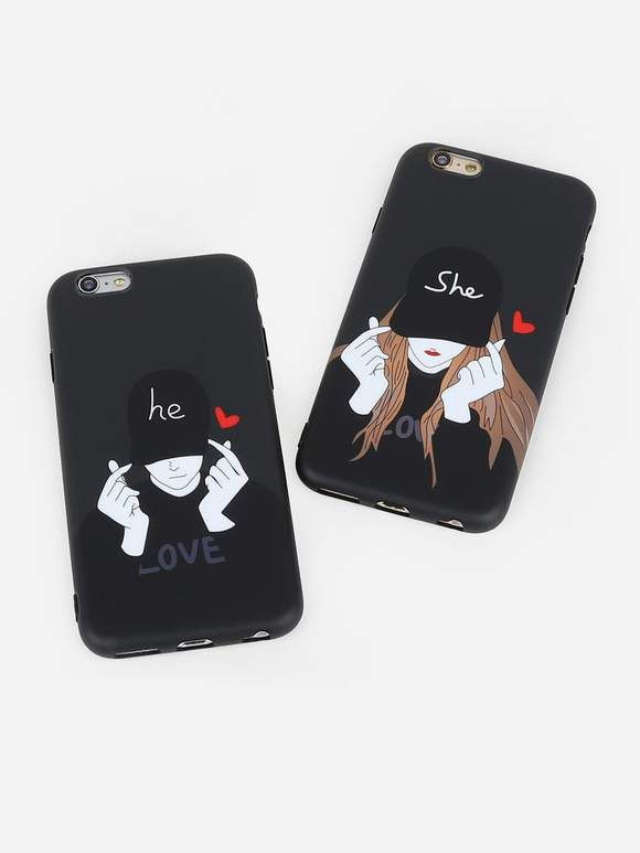 a3b7827b36 2pcs LOVE Couple iPhone Cases in 2019 | Electronics, Gadgets and ...