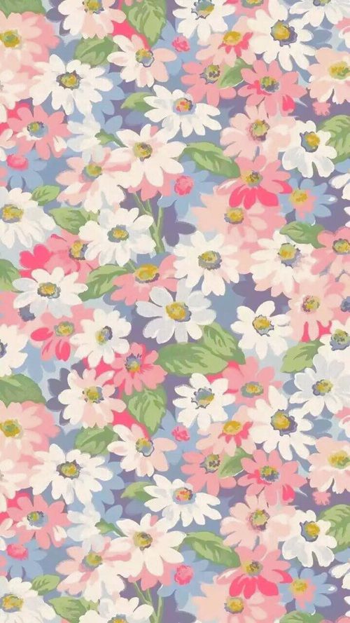 Картинка с тегом «flowers, pink, and wallpaper»