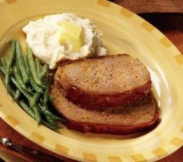 Bean Pot Meatloaf Recipe
