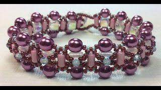 Ruby Lockwood - video tute for bracelet  ~ Seed Bead Tutorials