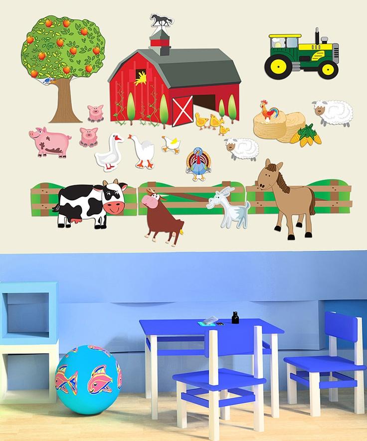 Kids Room Wall Decals Farm Wall Decals Farm Animal Decals: Farm Wall Decals 2017