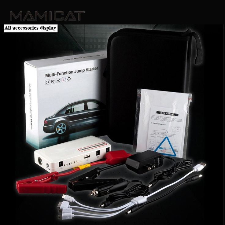 Cheaper US $38.99  Mini Portable Car Emergency Starter For 12v Cars Auto Charging Battery Starting Power Bank Plug Charger Start Multi Function  #Mini #Portable #Emergency #Starter #Cars #Auto #Charging #Battery #Starting #Power #Bank #Plug #Charger #Start #Multi #Function  #CyberMonday