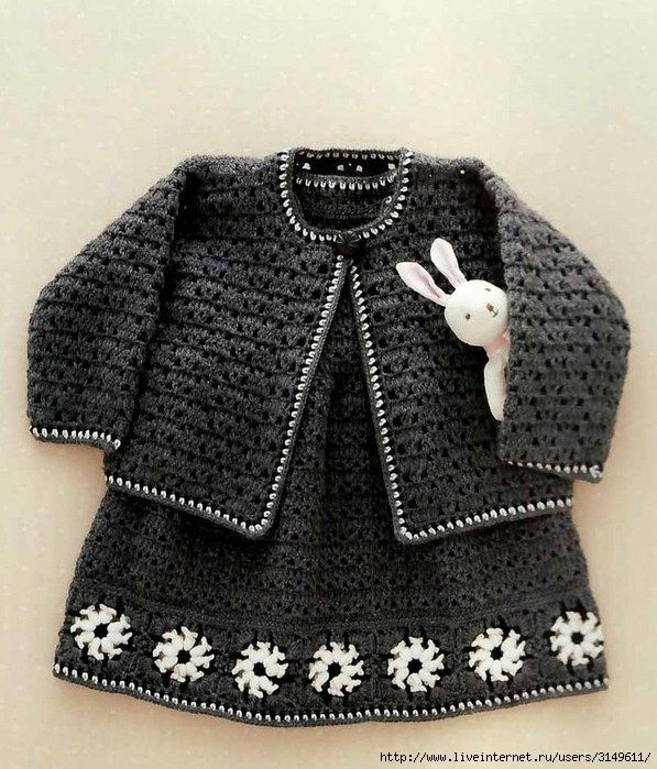 Crochet Baby Winter Dress Pattern : 1000+ images about ...........................a....baby ...