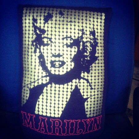 #Marilyn Monroe #pillow #crafts #home decor