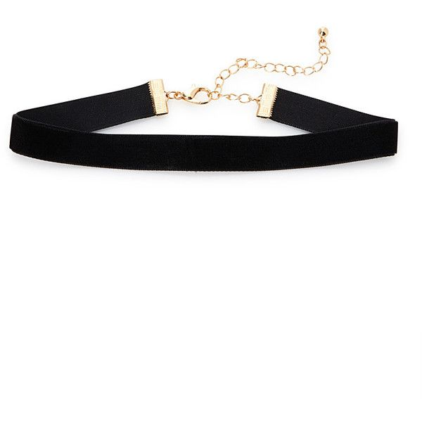 Velvet ribbon choker (£6.93) ❤ liked on Polyvore featuring jewelry, necklaces, accessories, chokers, choker jewellery, ribbon jewelry, ribbon necklaces, choker jewelry and velvet necklace