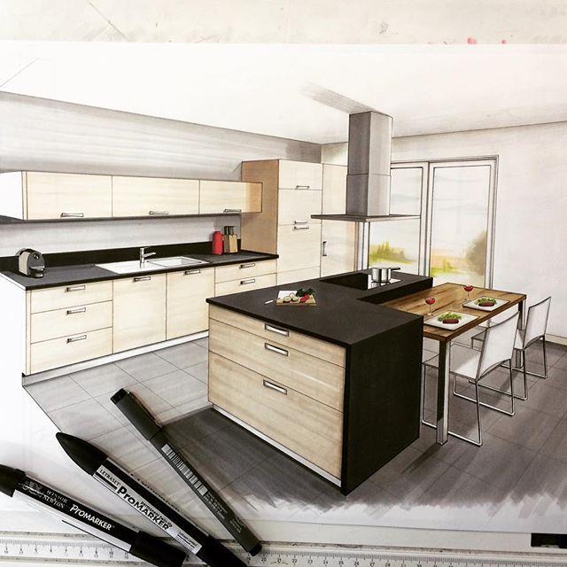 ✏️✏️✏ #draw #sketch #salledebain #handmade #handsketch #dessin #promarker #arquitatepage  #interior #design #architecture #architecturestudent @arquitetapage @arquisemteta @arch_more @gekkoe @boglearchitects @arts_help @abillustrator @ar.sketch @sketch_arq @winsorandnewton
