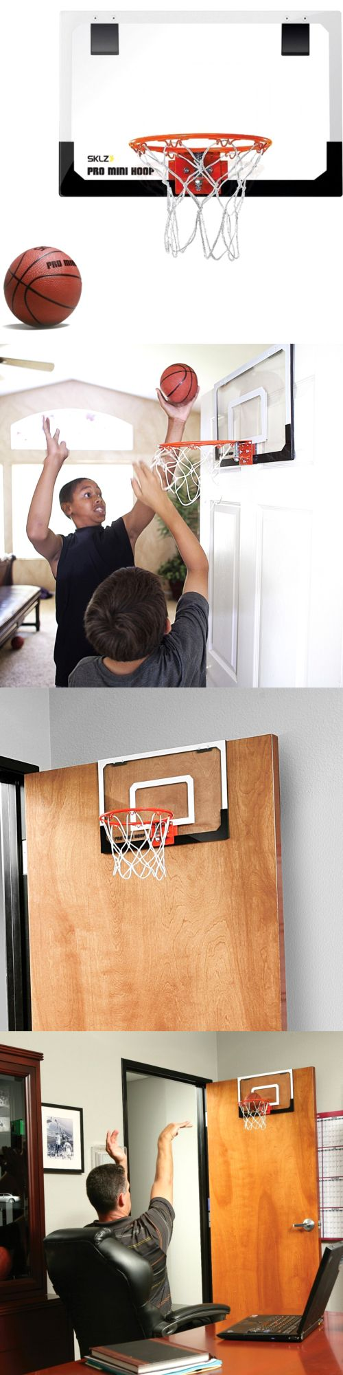 Backboard Systems 21196: Mini Pro Basketball Indoor Hoop Wall Door Kids Mount Sports With Ball Free New -> BUY IT NOW ONLY: $34.67 on eBay!