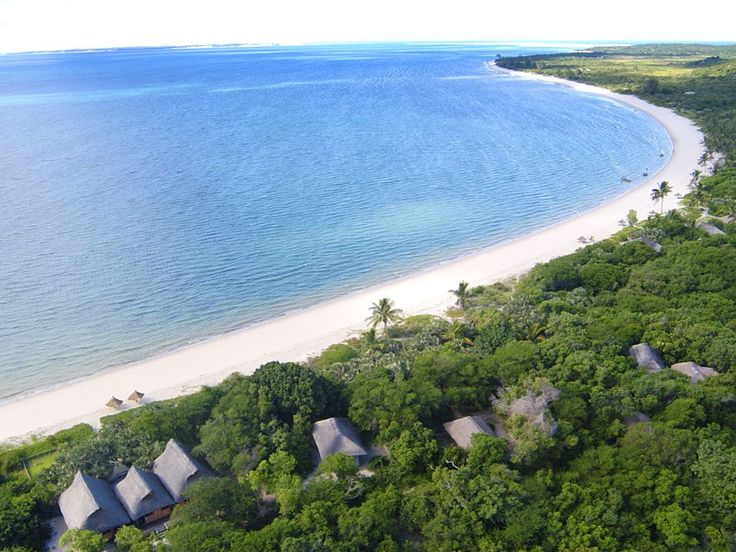Mozambique boasts miles of unspoilt beaches, like the Benguerra Lodge beach.