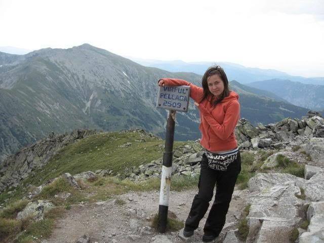 Peleaga Peak. Retezat Mountains