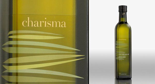 Charisma extra virgin olive oil by DASC Branding, Athens , via Behance