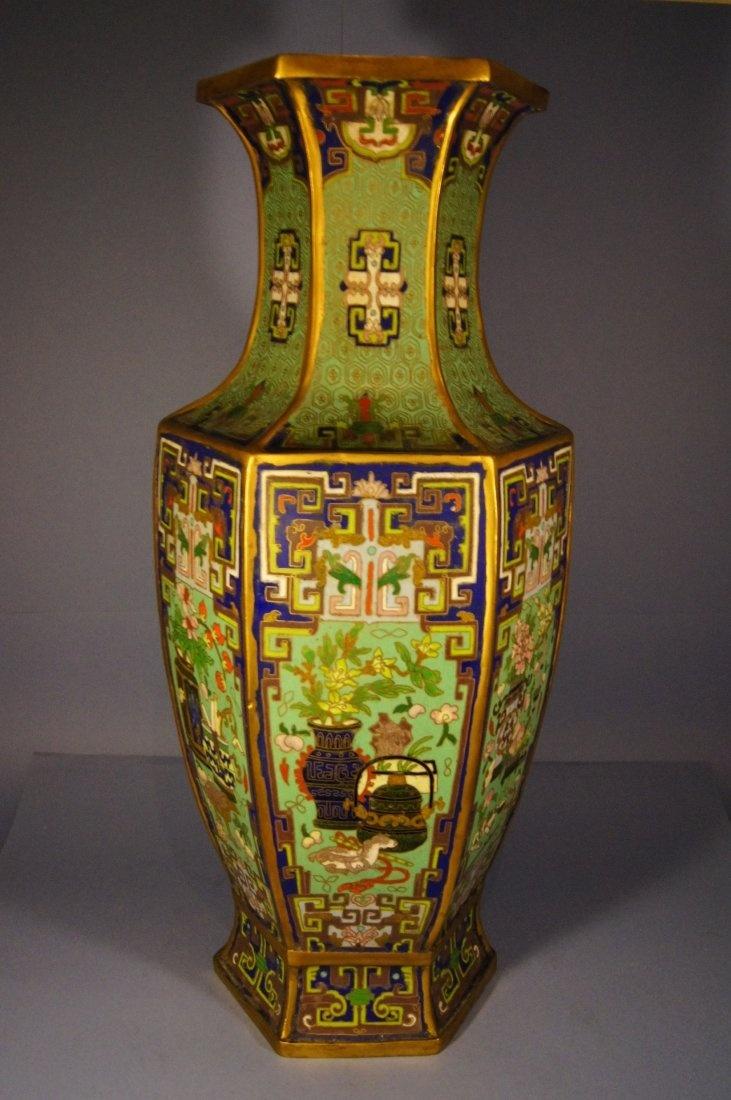 Bronze Cloisonne Vase Ming Dynasty Chinese Antique Pinterest Vase And Bronze