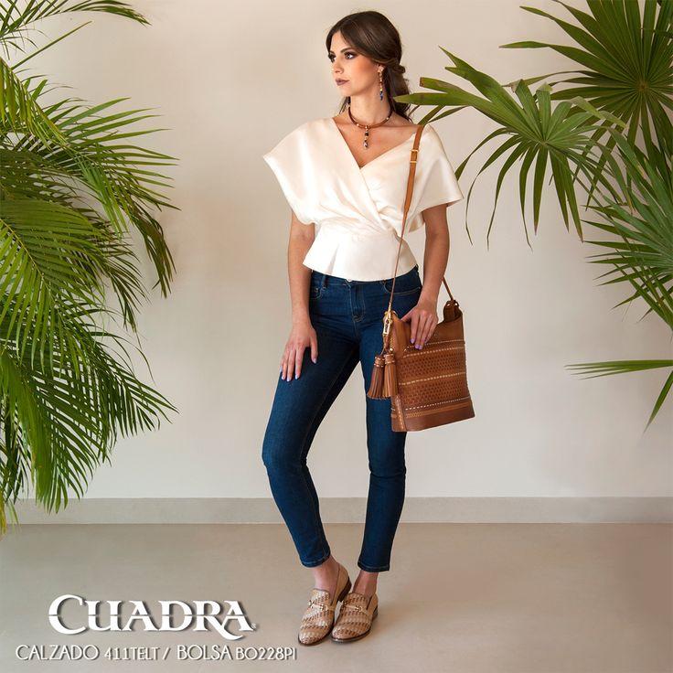 La mejor manera de lucir con estilo es llevando #Zapatos #Accesorios #CUADRA