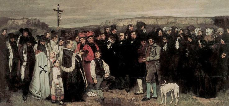 an analysis of burial at ornans by gustave courbet In an earlier blog (november 14th) i looked at the life of courbet and his painting the artist's studio if you have just arrived at today's blog it would be worth going to the earlier one to read about courbet's life and his artistic principles i mentioned in that earlier blog that when he had tried.