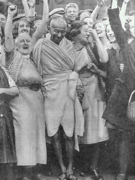 The pursuit of truth does not permit violence on one's opponent.   You must not lose faith in humanity.  Humanity is an ocean; if a few drops of the ocean are dirty, the ocean does not become dirty.  — Mahatma Gandhi