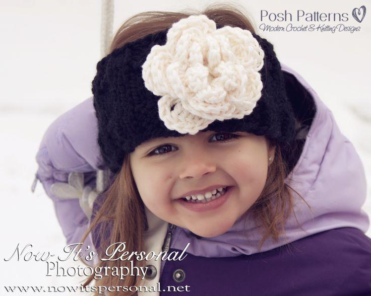 148 best Crochet ear warmers images on Pinterest   Crochet ideas ...